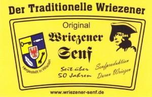 Original Wriezener Senf